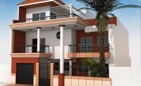 Modeling creator edge albums villa ref ms 6532112 for Plan maison 150m2 senegal