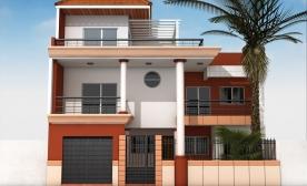 Plan architecte maison senegal maison moderne for Plan maison 150m2 senegal